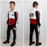 Беспл доставка Спортивный костюм для мальчика - 5 расцветок рост 128-158см