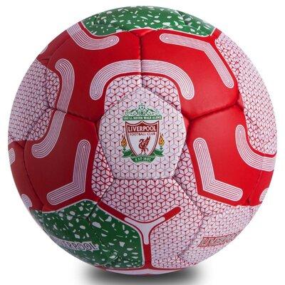 Мяч футбольный 5 гриппи Liverpool 0690 PVC, сшит вручную