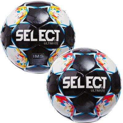 Мяч футбольный 5 St Ultimate ST-11 размер 5 PU, сшит вручную
