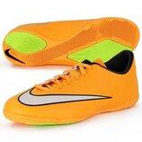 Футзалки Nike MERCURIAL VICTORY V IC 651635-800 Оригинал на размер 38-24см.