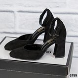 Туфли открытые с ремешком