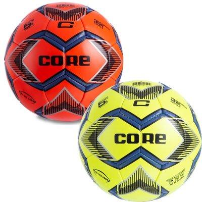 Мяч футбольный 5 Core Hi CR-016 размер 5 PU, сшит вручную