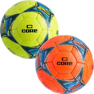 Мяч футбольный 5 Core Hi CR-018 размер 5 PU, сшит вручную