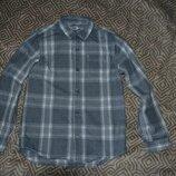 Рубашка F&F 8-9 лет рост 128-134 Англия сост новой