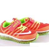 Распродажа Nike летние детские кроссовки на липучке 26,28р