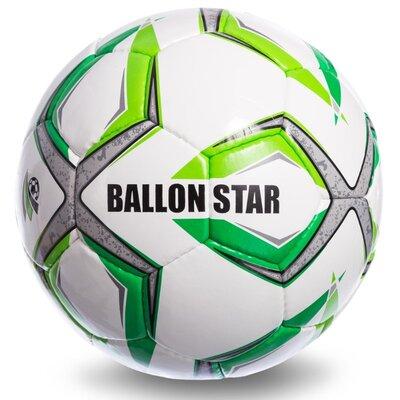 Мяч футбольный 5 Ballonstar SM-103 PU, сшит вручную