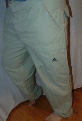 Стильние фирменние штани брюки сафари .Adidas Адидас .л-хл .
