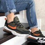 Кроссовки мужские Nike Air Max 270 React хаки