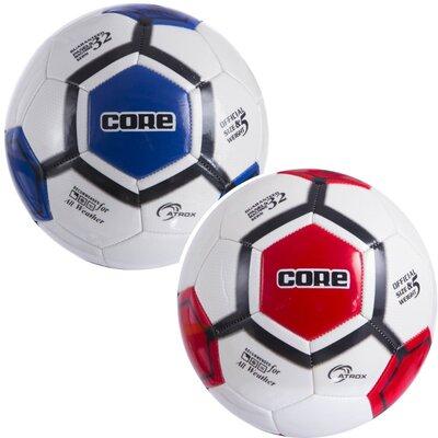 Мяч футбольный 5 Core Atrox CRM-052 размер 5 PVC, сшит вручную