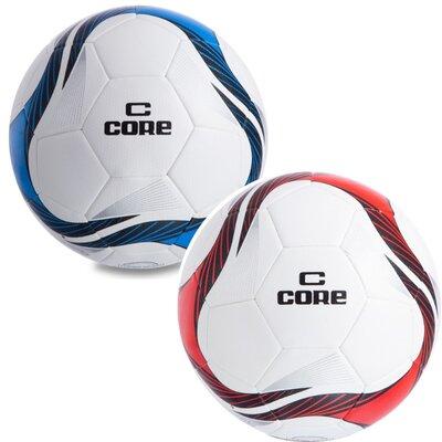 Мяч футбольный 5 Core Super CR-012 размер 5 PU, сшит вручную