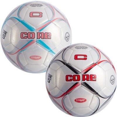 Мяч футбольный 5 Core Strap CR-015 размер 5 PU, машинная сшивка