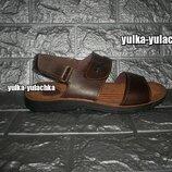 Мужские сандалии на липучках