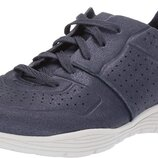 Женские кроссовки Skechers Womens Seager-Major League-Perfed Metallic Lace Up Jogger Oxford Сша