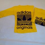 Реглан желтый Adidas