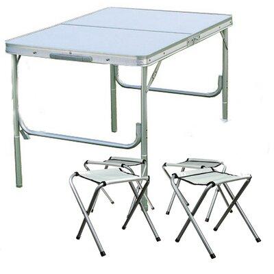 Стол раскладной для пикника Picnic Table 4 стула 6001