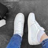 Хит 2020 Базовые натуральные кожаные белые кроссовки кеды Высокое качество 36,37,38,39,40,41