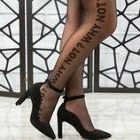 Код 6802 Элитная коллекция Туфли с ремешком Натуральная итальянская замша Кожаная внутренняя часть