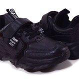 Кроссовки для мальчика Clibee Vogue черный р.32,33,36,37