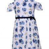 Низкая цена- супер качество Стильные и красивые платья для девочки Венгрия