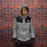 Рефлективная Куртка Supreme x The north face black.Купить в Украине.