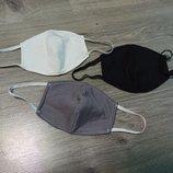 Многоразовая защитная маска, 4 слоя