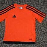 Новая термо футболка Adidas climalite на 5 лет рост 110 оригинал