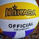 Мяч волейбольный, 21 см, 280 г, Mikasa