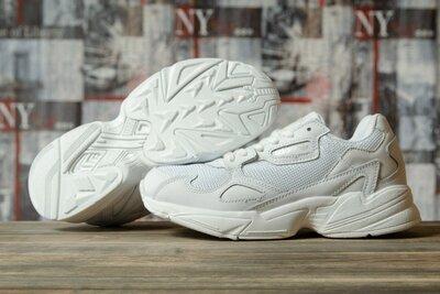 Кроссовки женские Adidas Falcon, белые Dr16742