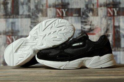 Кроссовки женские Adidas Falcon, черные Dr16741
