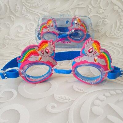 Очки для плавания Пони, разные варианты