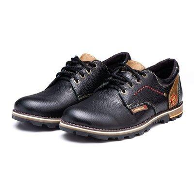 Кожаные мужские туфли Winter
