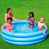 Детский надувной бассейн 58446 Кристалл большой 168х40 см