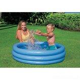 Надувной детский бассейн Intex 59416 Кристал 114х25 см