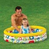 Надувной детский бассейн Intex 59419 Геометрия 114 х 25 см