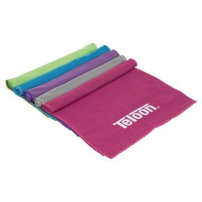 Полотенце спортивное Teloon Cool Towel CT001 полотенце для путешествий размер 100х31см, микрофибр