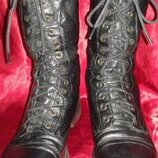 Кожаные ботинки Steve Madden, размер 37.