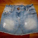 джинсовая юбка Next на 5 лет