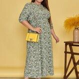Новиночки Классное платье макси, размеры 46- 48 на Ог до 105см