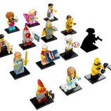 LEGO Minifigures Полная коллекция минифигурок 17 серии из 16 шт 71018 17