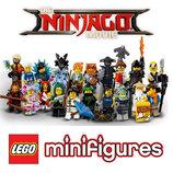 LEGO Minifigures Полная коллекция минифигурок Лего Фильм Ниндзяго из 20 шт 71019 21