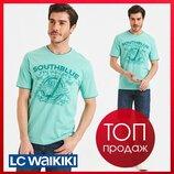 Мужская футболка LC Waikiki / Лс Вайкики SOUTH BLUE