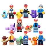 Фигурки, человечки пикачу лего, lego аналог