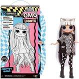 Светящаяся кукла Лол Омг Груви Беби L.O.L. Surprise O.M.G. Lights Groovy Babe Fashion Doll LOL OMG