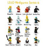 LEGO Minifigures Полная коллекция минифигурок 16 серии из 16 шт 71013 17