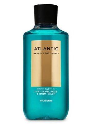 3 в 1 Мужской гель для душа/ шампунь/гель для умывания ATLANTIC от Bath and body works 295мл