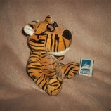 Музыкальная мягкая игрушка тигр тигренок в очках