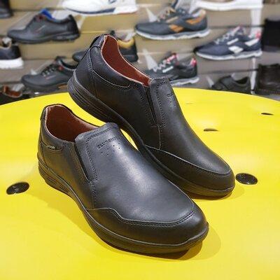 Модные спортивные туфли из натуральной кожи