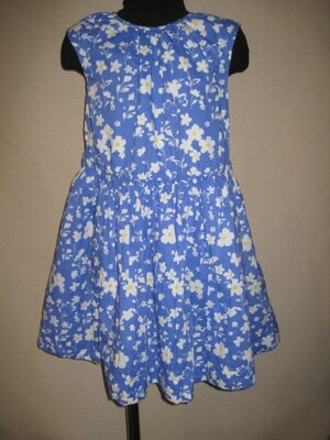 Натуральное платье Спенсер 6-7л,
