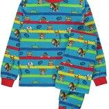пижамка для мальчиков с любимыми героями из Англии