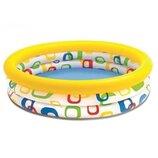 Надувной Бассейн детский Геометрия Intex 58439 Интекс